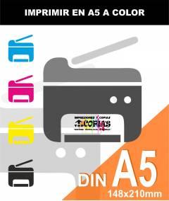 Imprimir a COLOR A5